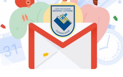 Protocolo correo institucional a los estudiantes