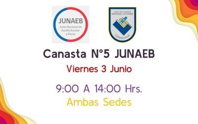 5ª Canasta, Jueves 3 Junio.